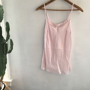 Light pink Anthropologie cami #180119002